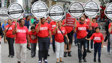 Photo of Alabama workers fight to form first U.S. Amazon union