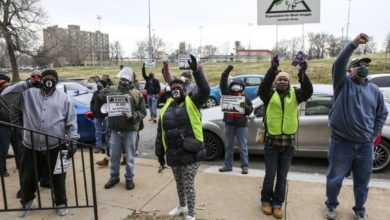 Photo of Interview: Formerly incarcerated organizer on Feb. 6 St. Louis jail protest