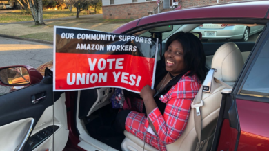 Photo of Amazon union struggle takes hold in southern state with radical labor history