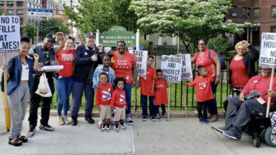 Photo of 'Enough is enough!' NYC public housing residents demand national changes
