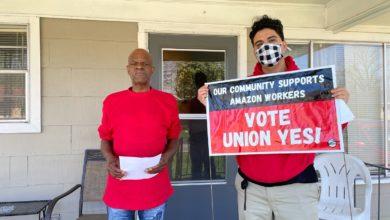 Photo of Amazon workers fight back! Bessemer, Alabama, sees overwhelming support for union drive