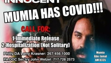 Photo of Keep up the fight for Mumia: 'No' to COVID medical neglect!