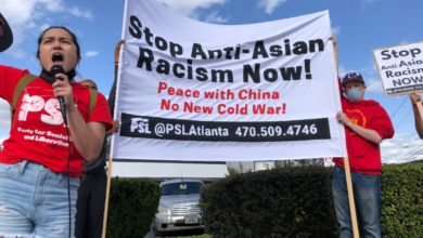 Photo of Protest in Atlanta stands up to anti-Asian terror attacks