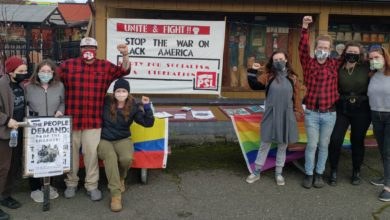 Photo of Rural Washington state rally demands: 'Stop the war on Black America'