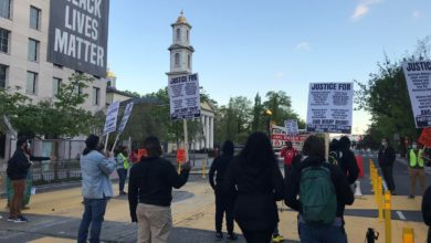 Photo of D.C. activists demand Justice for Daunte Wright and three Black men killed in DMV area
