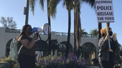 Photo of Comunidad de Escondido exige justicia tras el asesinato de Steven Olson por la policía