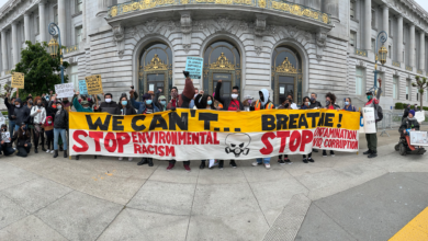 Photo of 'People's Earth Day' rally in San Francisco highlights local history of environmental racism