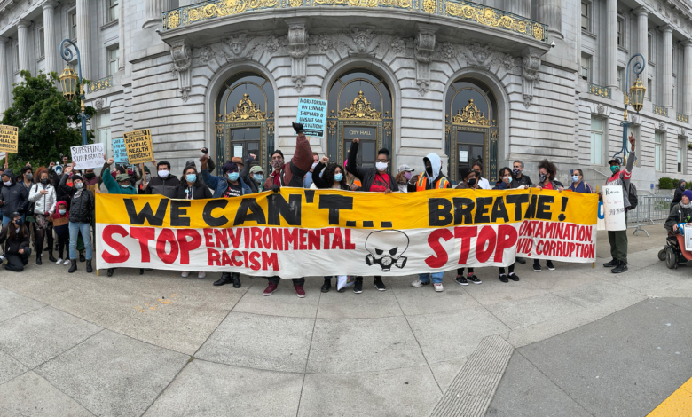 People's Earth Day' rally in San Francisco highlights local history of  environmental racism – Liberation News