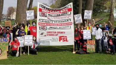 Photo of Defying local government's threats, Chester County rallies against cash bail