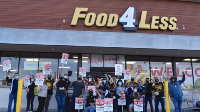 Photo of Workers rally to boycott Food4Less in Los Angeles