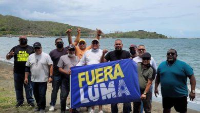 UTIER members demonstrate against Luma. Photo credit: UTIER