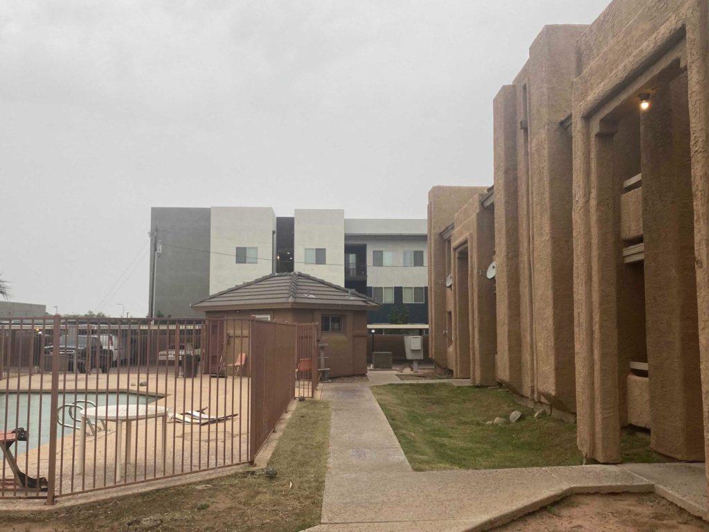 Silverwood Apartment Complex. Photo: Liberation News